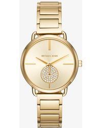 Michael Kors - Portia Gold-tone Watch - Lyst