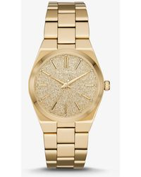 Michael Kors - Channing Gold-tone Watch - Lyst