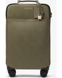 Michael Kors - Large Saffiano Leather Suitcase - Lyst