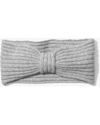 Michael Kors | Cashmere Ribbed Headband | Lyst