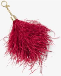 Michael Kors - Feather Key Chain - Lyst