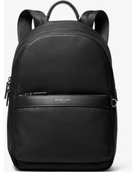 e098de4ddbf3 Michael Kors Odin Leather Backpack in Brown for Men - Lyst