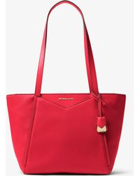 Michael Kors - Whitney Small Pebbled Leather Tote - Lyst