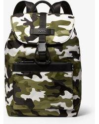 1ef2a2f27220 Michael Kors - Kent Camouflage Jacquard Nylon Backpack - Lyst