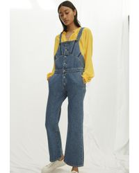 1f8779ec96d0 M.I.H Jeans Clint Dungarees in Black - Lyst