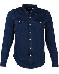 Levi's Overhemd 65816/0322 - Blauw