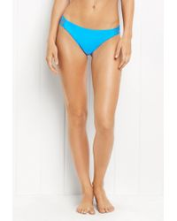 MILLY - String Cheeky Bikini Bottom - Lyst