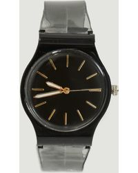 Missguided - Black Matte Face Watch - Lyst