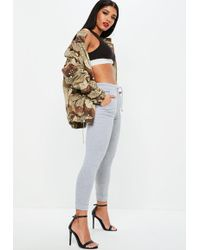 Missguided - Petite Grey Joggers - Lyst