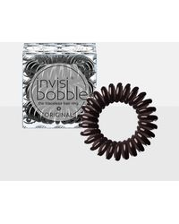 Missguided - Invisibobble 3 Pack Brown Original Hair Bobble - Lyst