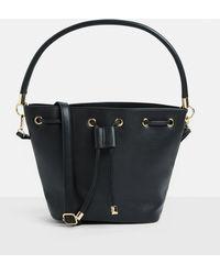 Missguided - Black Bucket Draw String Bag - Lyst
