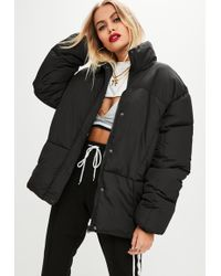 Missguided - Back Ultimate Oversized Puffer Jacket - Lyst