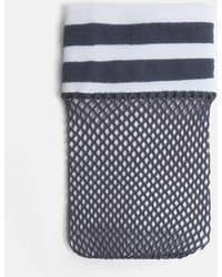Missguided - Blue Sports Fishnet Socks - Lyst