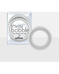 Missguided - Invisibobble 3 Pack Silver Original Hair Bobble - Lyst