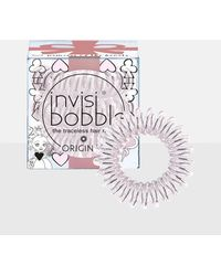 Missguided - Invisibobble 3 Pack Clear Princess Of Hearts Original Hair Bobble - Lyst