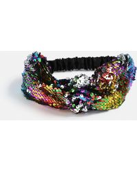 Missguided - Multi Rainbow Sequin Headband - Lyst