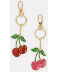 Missguided - Red 2 Pack Metal Cherry Keyrings - Lyst