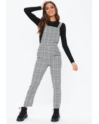 165ccffb6f0 Lyst - Missguided Megara High Neck Jumpsuit In Grey in Gray