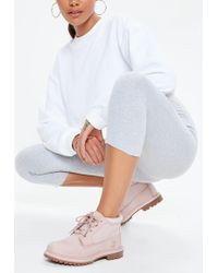 Missguided - Timberland Pink Nellie Chukka Boots - Lyst