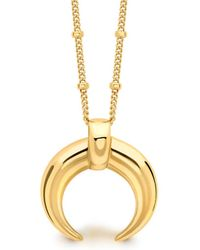 Missoma - Lucy Williams Large Horn Necklace - Lyst