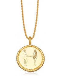 Missoma - Body Language H Initial Necklace By Fee Greening - Lyst