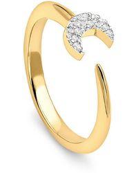 Missoma - Eclipse Ring - Lyst