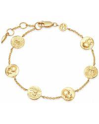 Missoma - Lucy Williams Legion Coin Bracelet - Lyst
