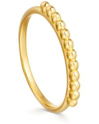 Missoma - Lucy Williams X Roman Beaded Ring - Lyst