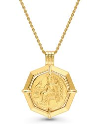 Missoma - Lucy Williams Octagon Medallion Necklace - Lyst