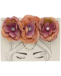 Miss Selfridge - Floral Headband - Lyst