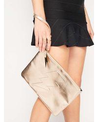 Miss Selfridge Lightning Bolt Clutch Bag