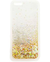 Miss Selfridge - Glitter Iphone 6 Case - Lyst