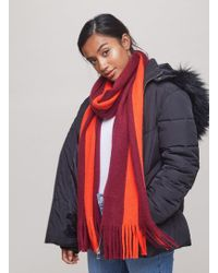 Miss Selfridge - Vertical Stripe Scarf - Lyst