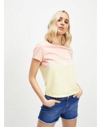 Miss Selfridge Buzzy Blue Denim Shorts