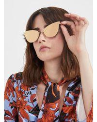 Miss Selfridge - Quay Australia Lady Luck Sunglasses - Lyst