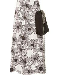 Claudia Li - A-line Pocket Skirt - Lyst