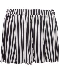 Caroline Constas - Breeze Pleated Short - Lyst