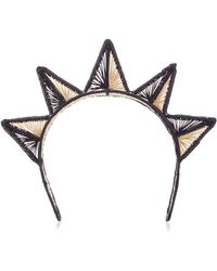 Magnetic Midnight - M'o Exclusive Triangulo Headband - Lyst