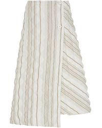 Jil Sander - Glow Quilted Skirt - Lyst