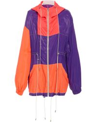 Prabal Gurung - Color Blocked Anorak - Lyst