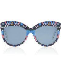 Rianna + Nina - X Andy Wolf Carnaval Bahia Sunglasses - Lyst