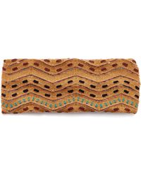 Missoni - Fascia Testa Embroidered Fil Coupé Headband - Lyst