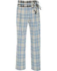 Rosie Assoulin - Third Rail Straight Leg Pants - Lyst