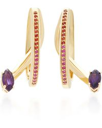Bea Bongiasca | Tiger Lily Prosperity Specular Earrings | Lyst