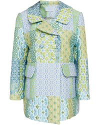 Luisa Beccaria - Patchwork Quilted Jacket - Lyst