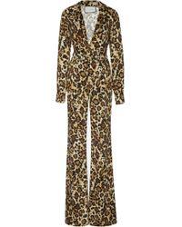Alexis - Danai Leopard Jumpsuit - Lyst