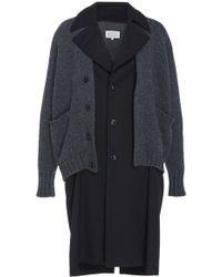 Maison Margiela - Trench Coat Cardigan - Lyst