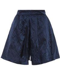 Edit - A-line Mini Culotte Shorts - Lyst