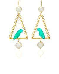 Marie-hélène De Taillac - Renaissance Parrots Earrings - Lyst