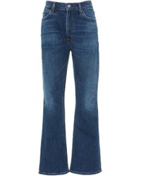 Citizens of Humanity - Demy Cropped High-rise Flare Jeans - Lyst